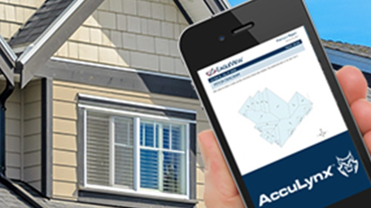 Order EagleView reports through the AccuLynx Mobile App