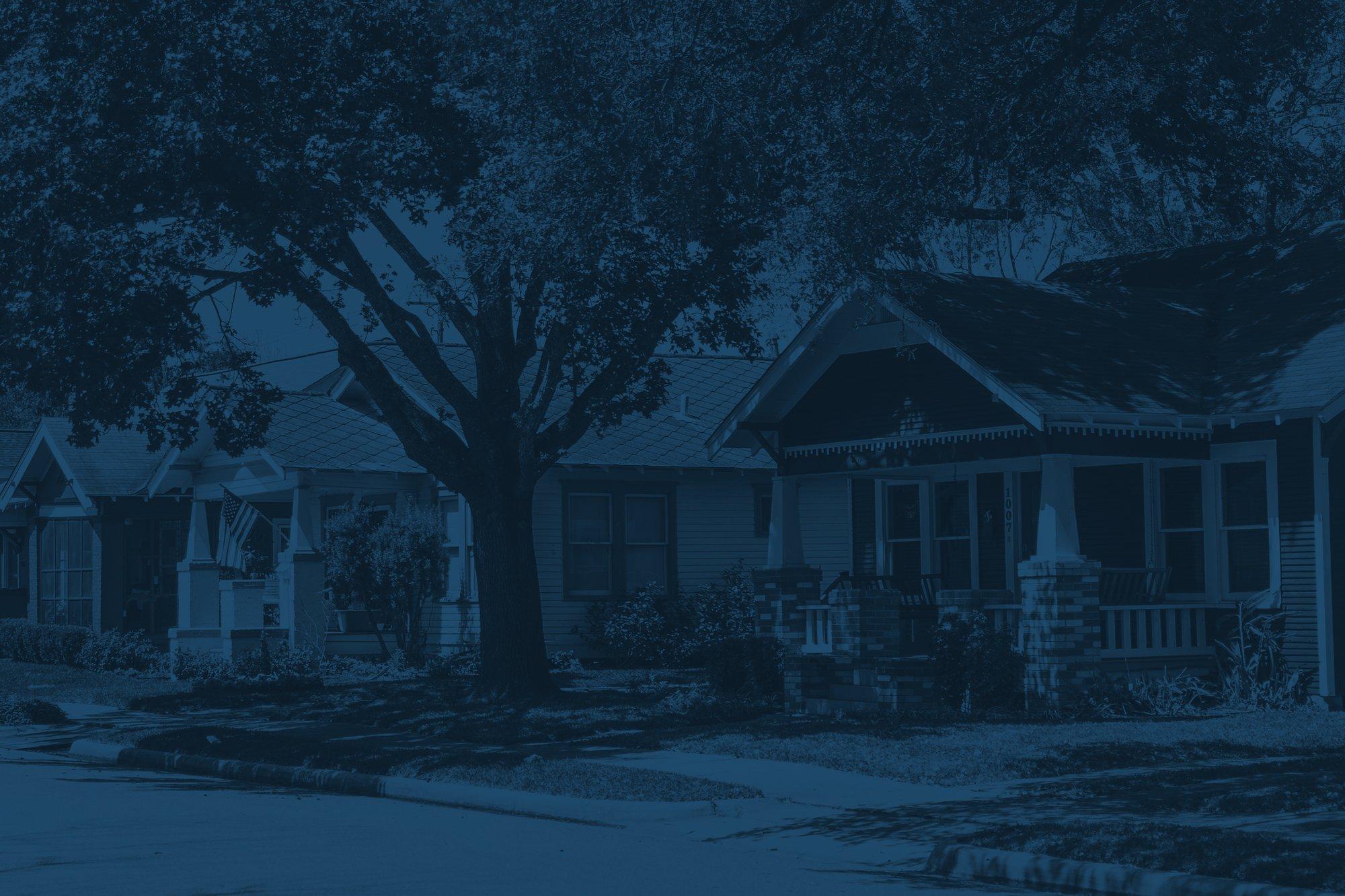 Blue Neighborhood